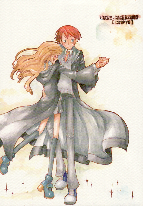 harry potter en manga: