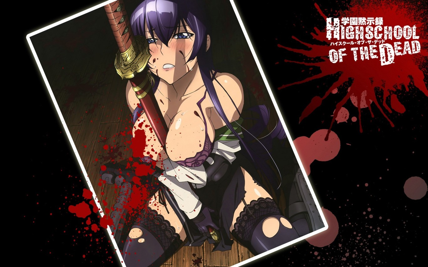 high school of the dead nackt