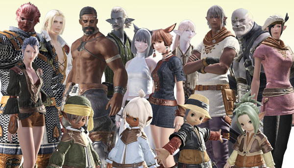 Final Fantasy XI Playable Races
