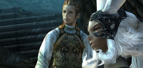 Fran and Balthier from Final Fantasy  XII