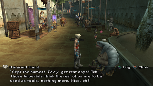 Itinerant Hand from Final Fantasy XII Dialog 2