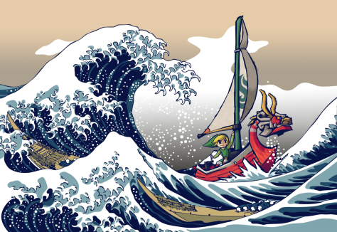 Wind Waker Great Wave