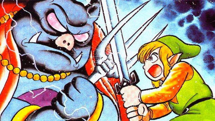 A Link to the Past Link vs Ganon