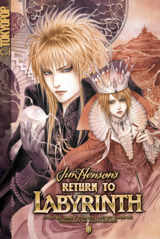 Return to Labyrinth OEL Manga
