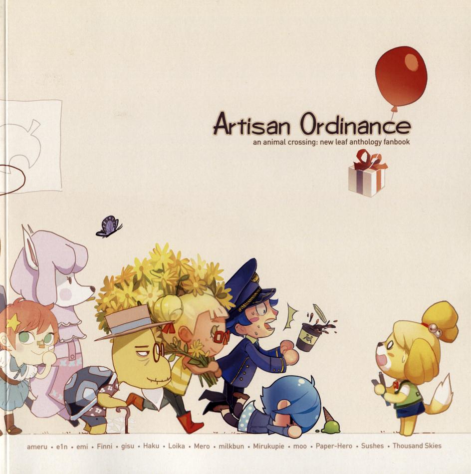 Animal Crossing Yaoi Porn doujinshi – contemporary japanese literature