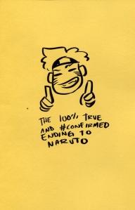 Ending to Naruto