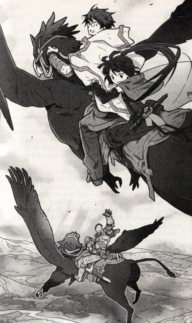 Log Horizon Volume 1 Page 153
